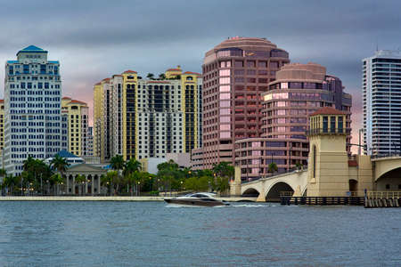 West Palm Beach, Florida, United States 免版税图像