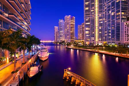 waterfront: Miami, Florida, United States