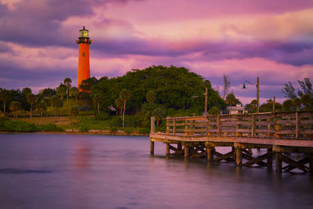 florida landscape: Jupiter Inlet Lighthouse, Florida, United States