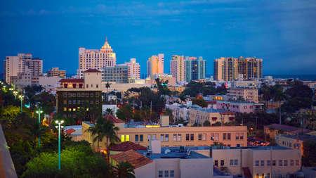 Art Deco building in the Art Deco District, South Beach, Miami  photo