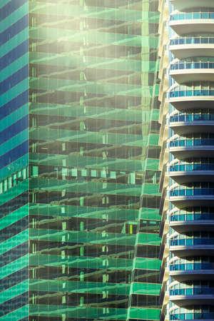 Downtown Miami office buildings Standard-Bild