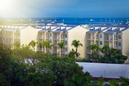 Key West Florida aerial view