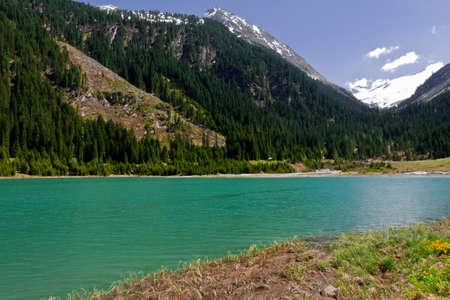 barrage: barrage Durlassboden, national park Hohe Tauern, Austria