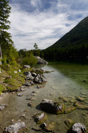 berchtesgaden: Hintersea, national park Berchtesgaden, Germany