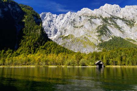berchtesgaden: landscape at national park Berchtesgaden, Germany Stock Photo
