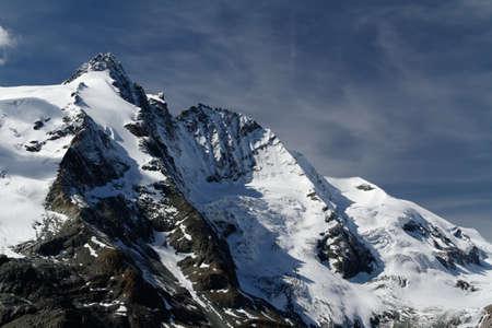 hohe tauern: landscape at Großglocknergroup, national park Hohe Tauern Stock Photo