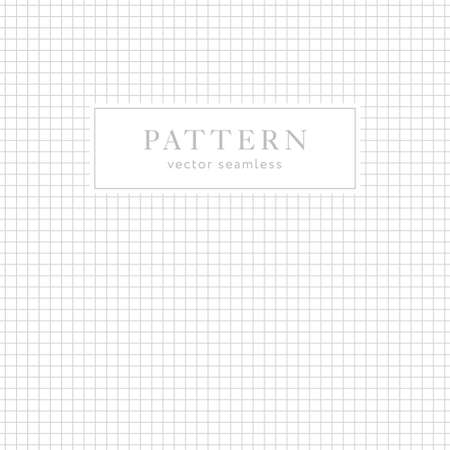 Simple geometric seamless pattern with crossing lines. Light collection. Abstract textured background design. Vector illustration for minimalist design. Modern elegant wallpaper.