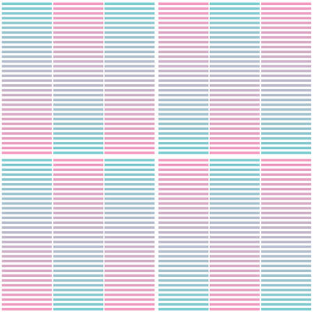 Seamless geometric pattern with horizontal stripes. Abstract gradient background design template. Vector illustration for minimalistic design. Modern elegant wallpaper.