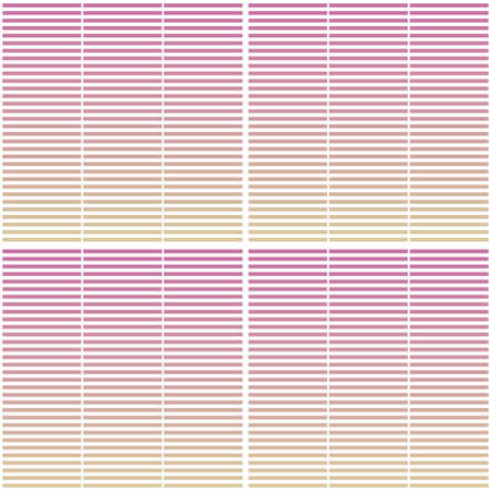 Seamless geometric pattern with horizontal stripes. Abstract gradient background design template. 向量圖像