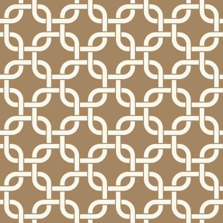 Seamless winter holidays geometric pattern. Merry Christmas and Happy New Year golden collection. Modern elegant wallpaper. Vector illustration.