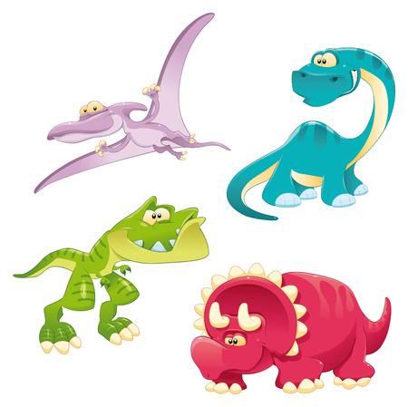 Familia de dinosaurios. Foto de archivo - 6964498