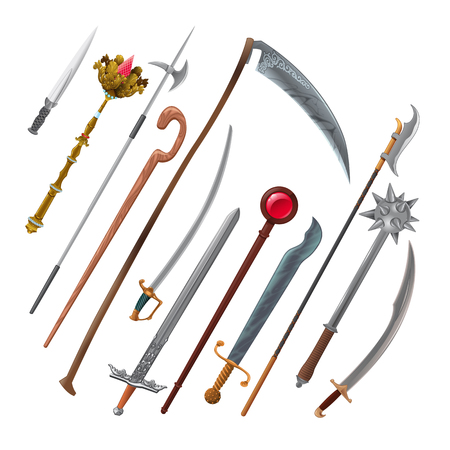 sabre: Set of different weapons.