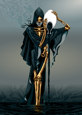 freak: Dark Aquarius. Vector illustration