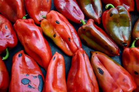 paprika: red paprika Stock Photo