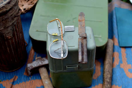 vintage accessories and tools