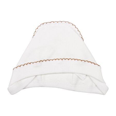 Newborn baby hat isolated on white background Stock fotó