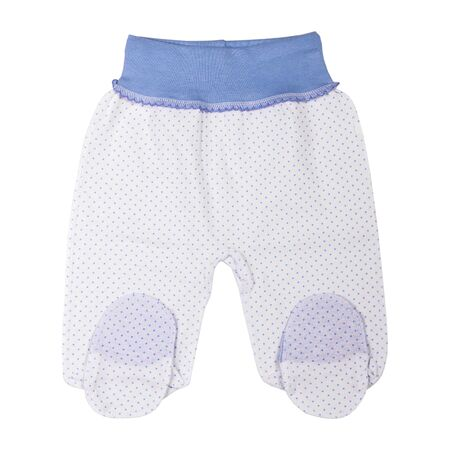 Baby boy clothes pants isolated on white background, clothes for kids