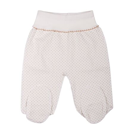 Baby clothes pants isolated on white background, clothes for kids Stock fotó