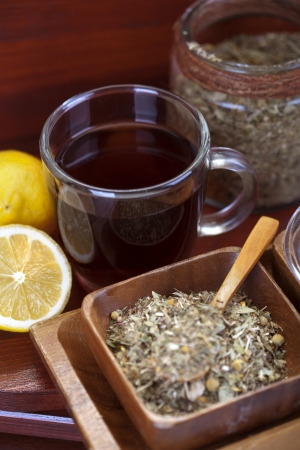 Traditional tea photo