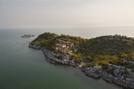 Lake Skadar in Montenegro  photo