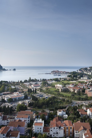 Panorama of Budva photo