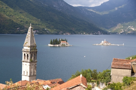 kotor: Perast in the Bay of Kotor, Montenegro