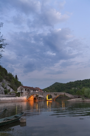 Old bridge, Rijeka Crnojevica, Montenegro photo