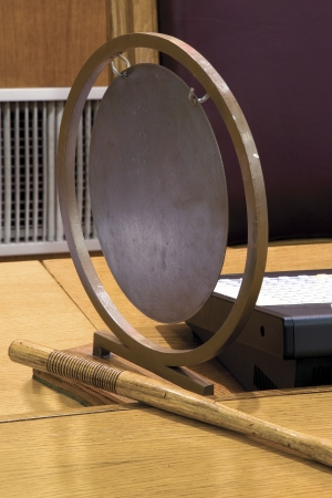 Parliamentary gong photo