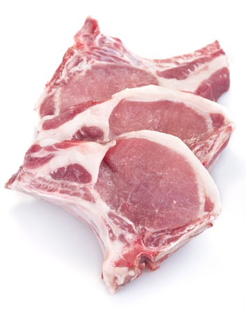 fresh domestic pork chops