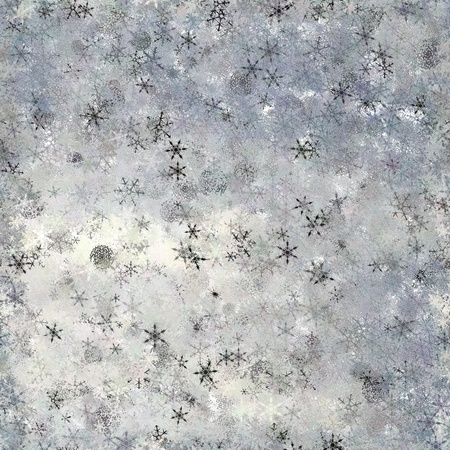 Snow flurries as seamles background - Camera and Computer generated seamless background or a large element of seamless tile about upper drifting snow fancy. Stock Photo - 10127426