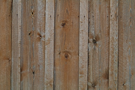 Board fence close-up. photo