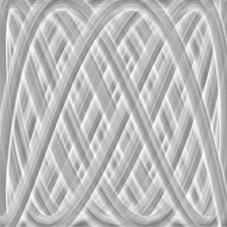 algebraic: A fancy background about Lissajous curves. Stock Photo