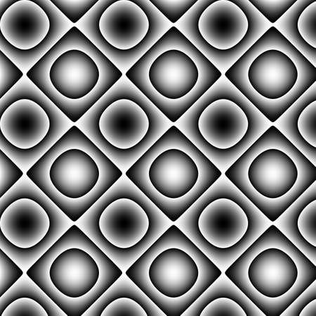 periodical: With mostly black and white colours and gradients geometrical texture. Stock Photo