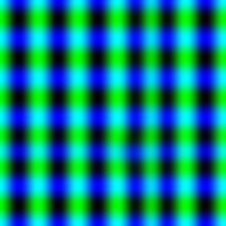 dimly: Green-blue seamless tile-able relief pattern.