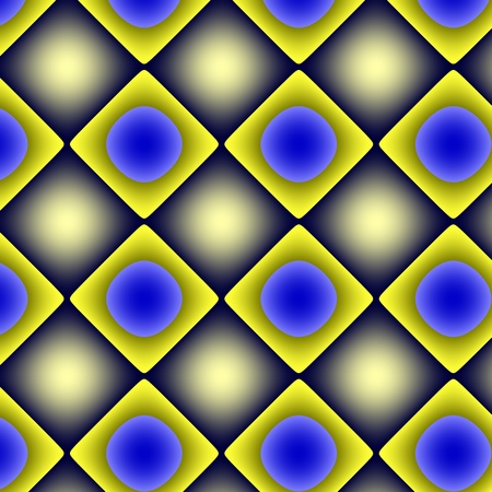 unmatched: Yellow-blue gradient pattern-background. Mostly with yellow and blue colours and gradients geometrical texture-background-wallpaper. Stock Photo
