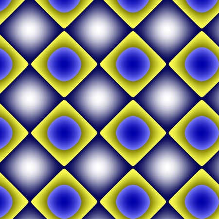 inimitable: Yellow-blue gradient pattern-background. Mostly with yellow and blue colours and gradients geometrical texture-background-wallpaper. Stock Photo