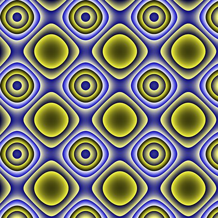 inimitable: Yellow and blue gradients pattern-background