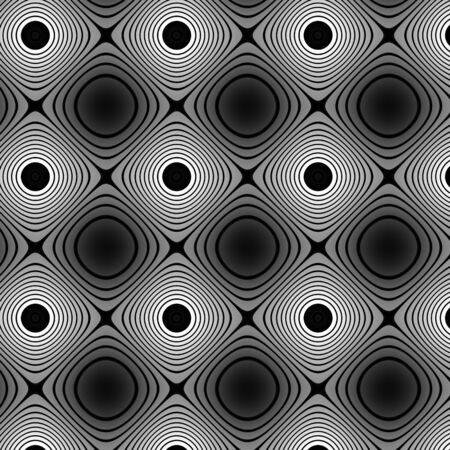 inimitable: Flat colorless pattern Stock Photo