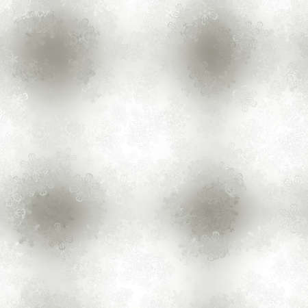 stellate: Snowy background. Seamless tile-able. Stock Photo