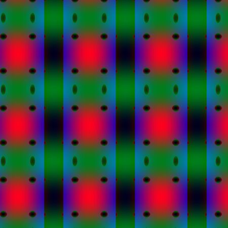 unmatched: Green-red complex pattern. Mainly with green and red colours and gradients multiple texture. Stock Photo