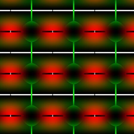 periodical: Traffic light abstract pattern. With stop and go light colours and gradients abstract texture-background-pattern. Stock Photo