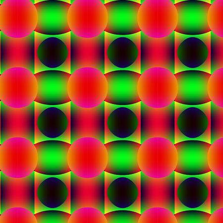 inimitable: Traffic light abstract pattern.