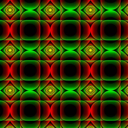 inimitable: Traffic light abstract pattern. With mostly stop and go light colours and gradients abstract texture-background-pattern. Stock Photo