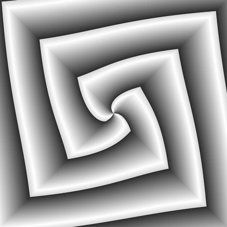 inimitable: Angular gray abstract. Stock Photo