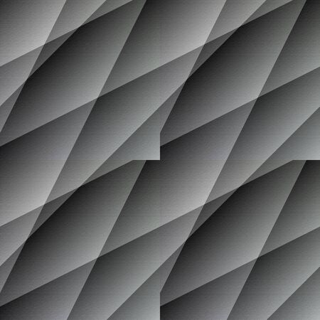 unmatched: Lineated seamless grey wallpaper. Lined seamless tile-able embossed wallpaper-background. Stock Photo