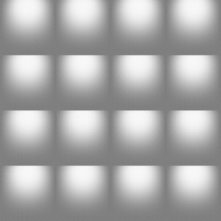 foursquare: Grey seamless embossed foursquare background. Soft, almost colorless textured tile-able seamless abstract background, texture, wallpaper, pattern. Stock Photo