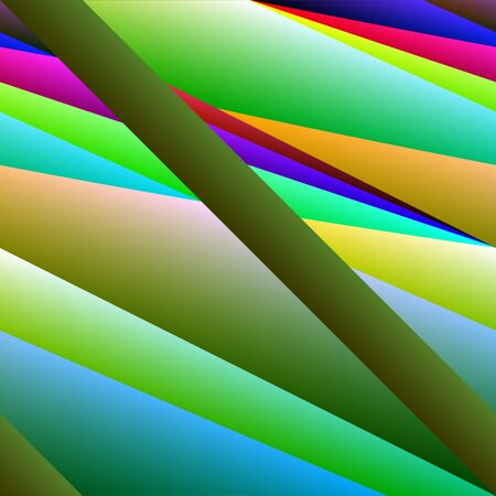 saturated color: Striped full colours seamless pattern as vector wallpaper.