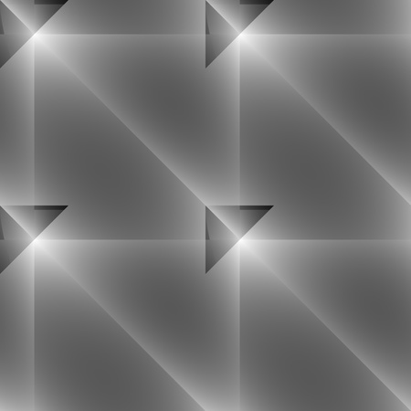 tile able: Grey seamless ornament as vector background