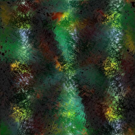 abstractive: Paint spattered seamless wallpaper. Abstractive picture about splashed paints as tile-able background.