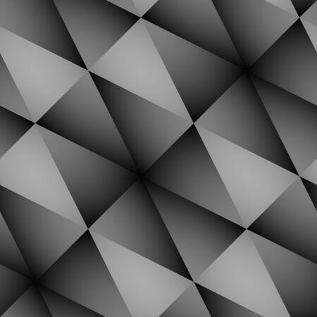 abstractive: Hexagonal seamless pattern. Tile-able grey abstractive pattern as seamless  wallpaper. Illustration